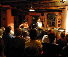 Live Flamenco performance in local bar